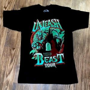 Disney Beauty and the beast vintage T